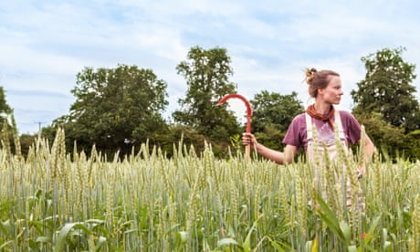 Calixta Killander of Flourish Produce, Cooks Pen Farm, Cambridgeshire Observer Food Monthly OFM July 2021