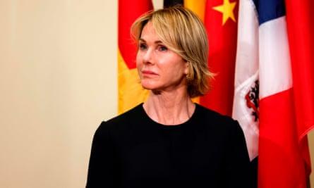 The US permanent representative, Kelly Craft
