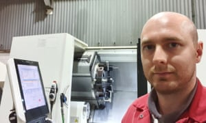 James Hobson, a metalworker in Bewdley, Worcestershire.