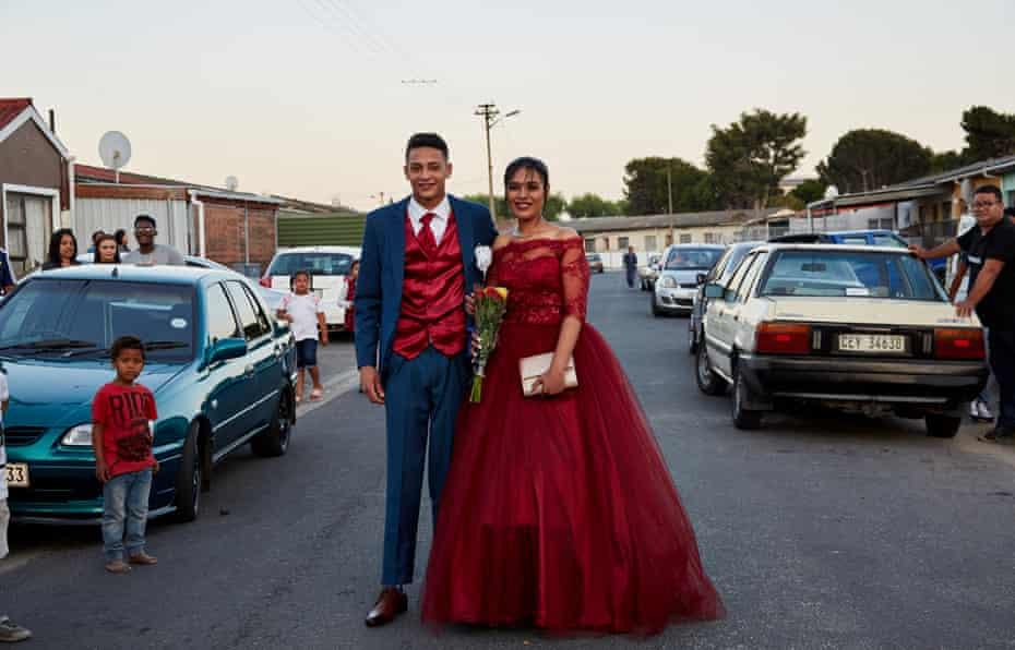 Layla and her date, Uzair Abrahams