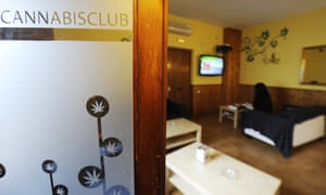 A private cannabis club in Madrid