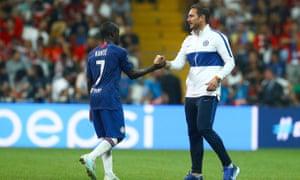 N'Golo Kante, Frank Lampard