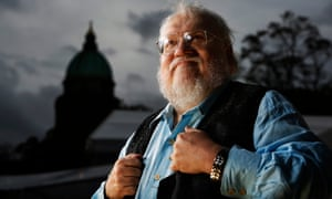 'I cannot tell you how much I appreciate all the kind words and good wishes' … George RR Martin.