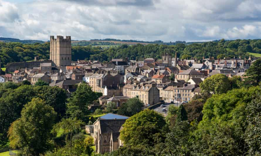 view of Richmond in North Yorkshire