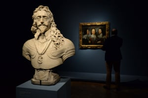 London, UK: A press view for the Charles I: King and Collector exhibition at the Royal Academy of Arts