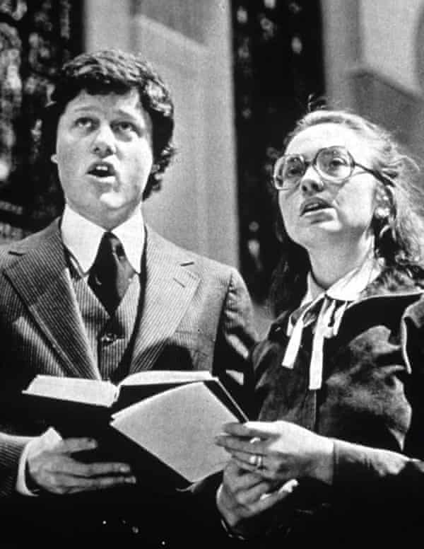 Bill Clinton and Hillary Rodham in the 1970s.