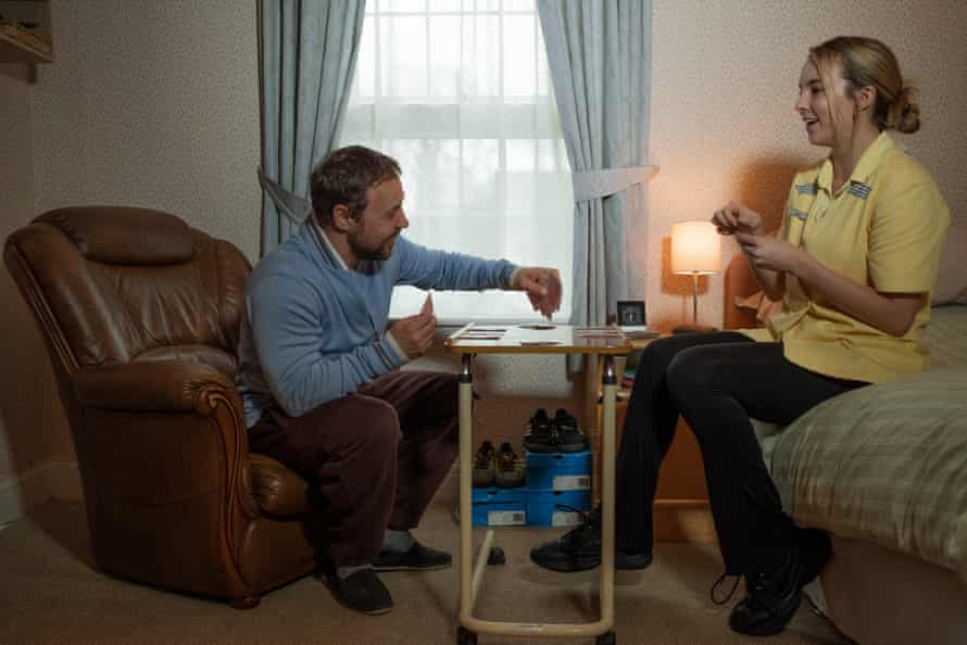 Stephen Graham as Tony and Jodie Comer as Sarah in the forthcoming Channel 4 drama Help.