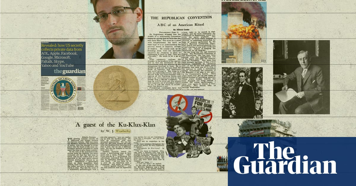 200 years of US coverage: how the Guardian found its feet stateside