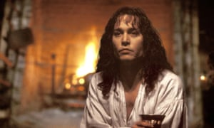 Johnny Depp as Rochester in the film version of The Libertine, 2004.