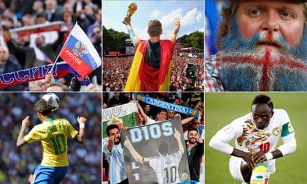 Germany, Iceland, Brazil, Argentina and Senegal are proving more popular than the hosts.