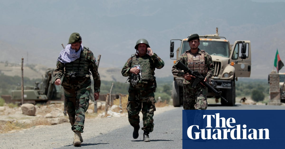 Afghanistan stunned by scale and speed of security forces' collapse