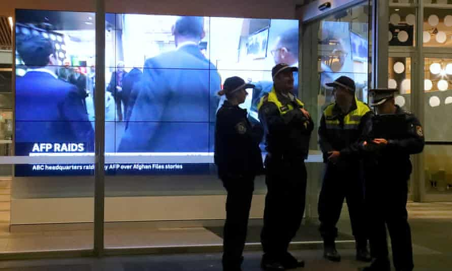 Australian federal police raided ABC headquarters on 5 June
