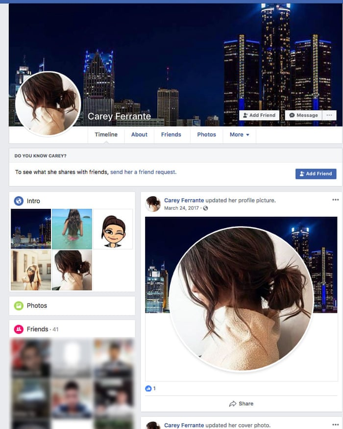 US immigration police broke Facebook rules with fake