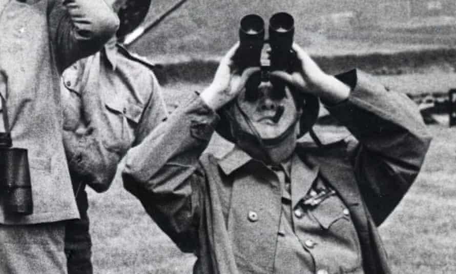 Winston Churchill in 1944