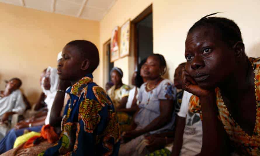 A health clinic in Ouagadougou, Burkina Faso. Trump's rule blocks US aid to any organization that discusses abortion as part of a family planning service.