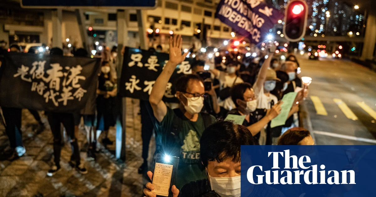 Hong Kong braces as protesters plan to defy Tiananmen vigil ban - the guardian