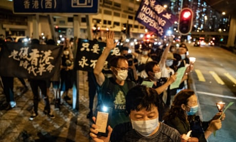 Hong Kong braces as protesters plan to defy Tiananmen vigil ban