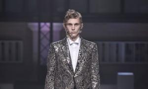 Alexander McQueen's pierced models