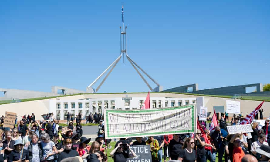 Thousands rallied at March 4 Justice demonstrations across Australia on Monday.
