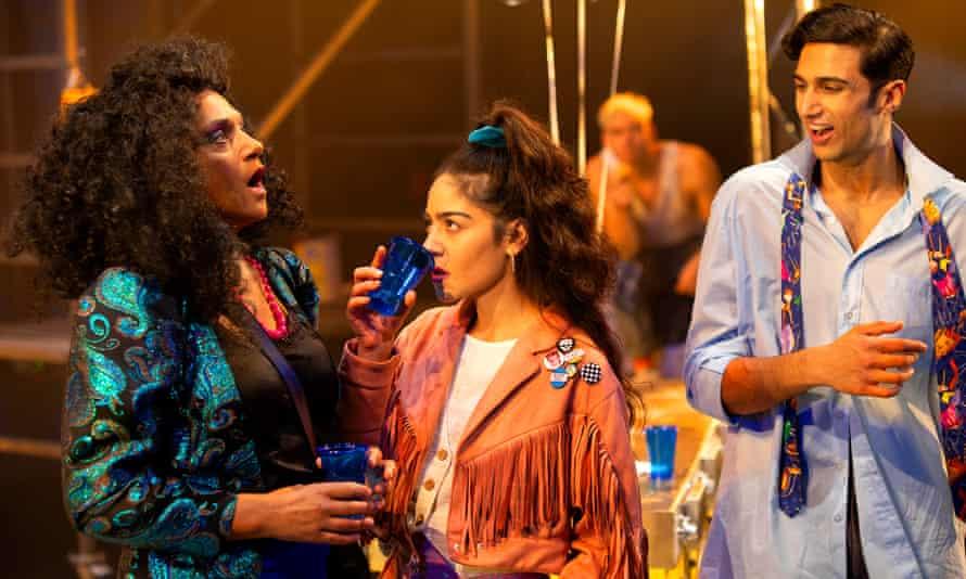 Fierce attack ... Cathy Tyson as Rachel, Nicole Jebeli as Tania and Omar Malik as Omar.
