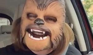 Candace Payne's Chewbacca mask video