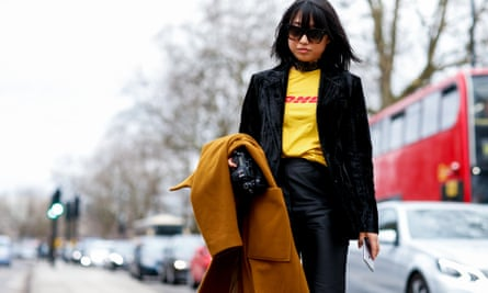 Street style model and blogger Margaret Zhang.