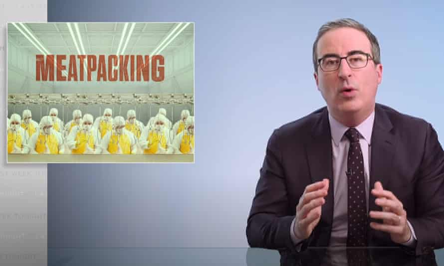 John Oliver: 'The treatment of workers in this industry has been very bad for a very long time.'