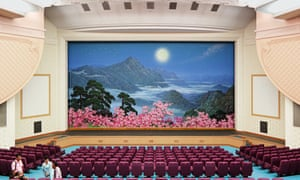 The auditorium of the East Pyongyang Grand theatre