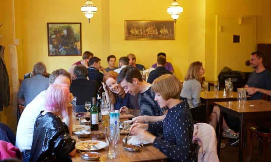 The India Club restaurant