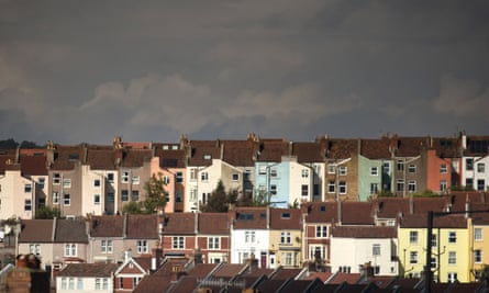 Rows of terraced houses
