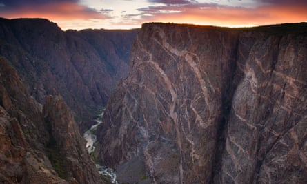 Painted Wall, Black Canyon of the Gunnison National Park, Colorado
