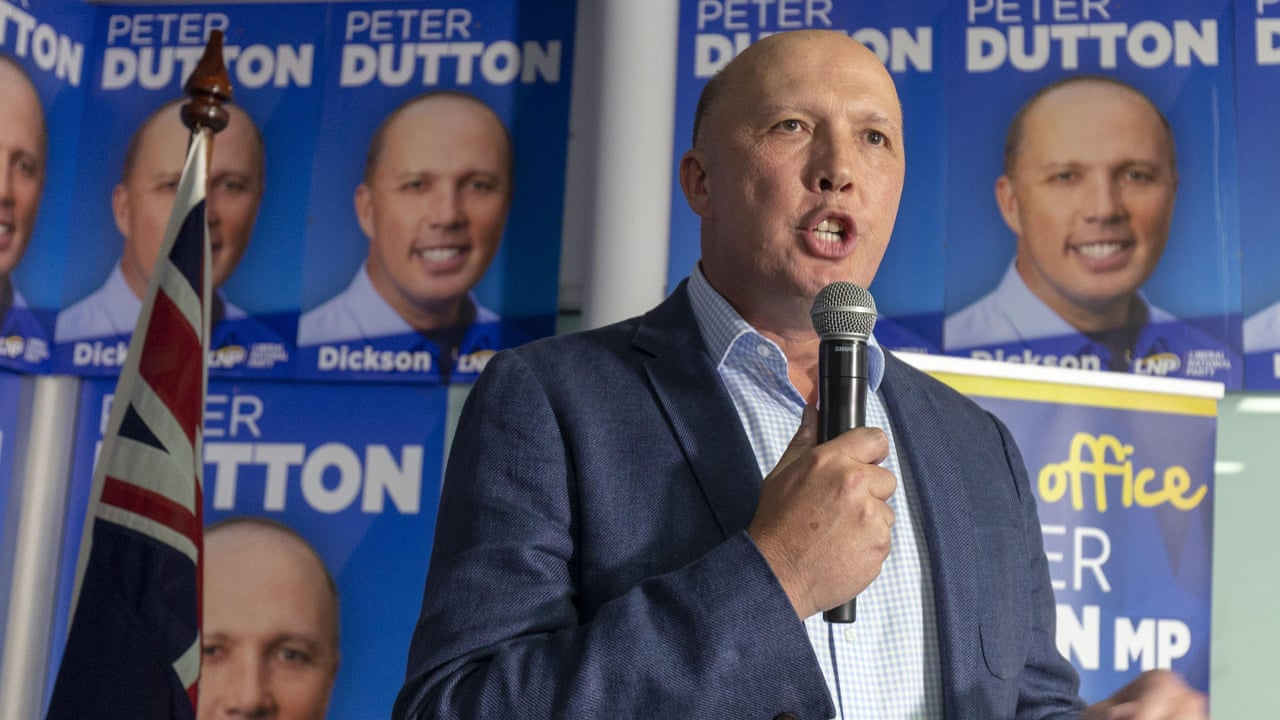 Peter Dutton quotes Paul Keating ...