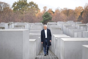 Sadiq Khan at the Memorial to the Murdered Jews of Europe in Berlin