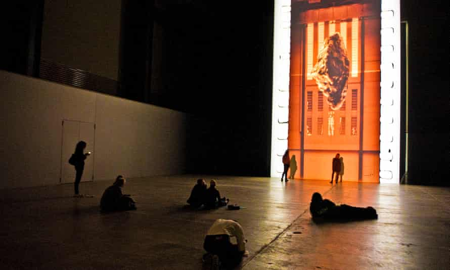 Dean's film for the Turbine Hall in Tate Modern.