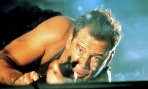 Familiarity … has social media created a Christmas movie tradition? Bruce Willis in Die Hard