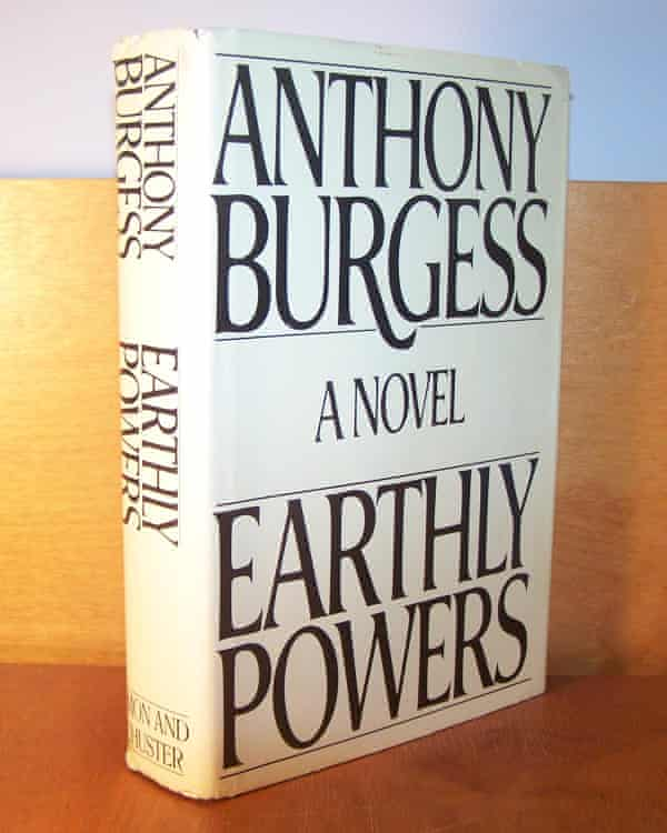 Cover of Earthly Powers book by Anthony Burgess