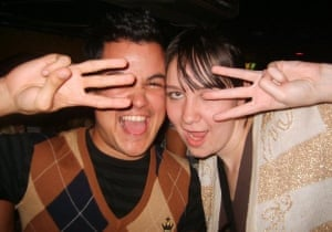 Kirsty Brown and Christian Moruga in 2000