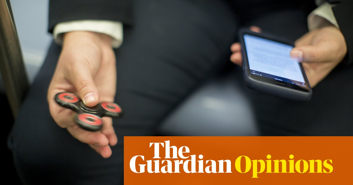Fidget spinners are not just a fad – ask any ballpoint-pen clicker