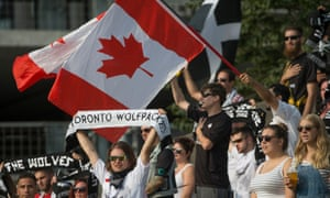 Toronto Wolfpack won League One last year and are currently top of the Championship. Next stop: the Super League.