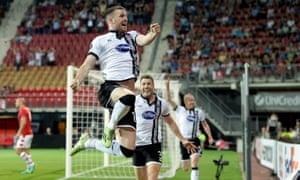 Dundalk and Ciaran Kilduff, their hero in Alkmaar, hope for more scenes like this on Thursday.