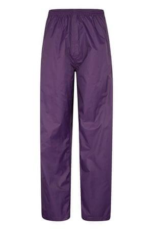 Waterproof overtrousers, £19.99 Pakka mountainwarehouse.com