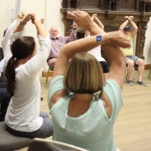 Colchester Castle's Dance for Parkinson's sessions