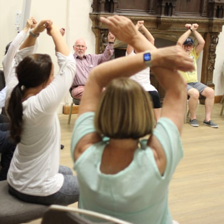 Colchester Castle's Dance for Parkinson's sessions