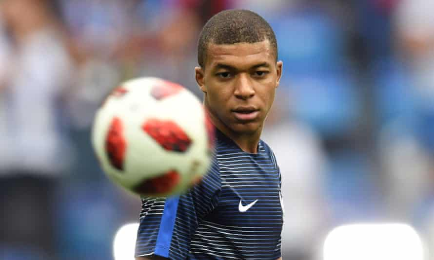 Kylian Mbappé has been told by the France head coach to express himself at the Wold Cup