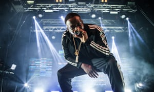 Kojo Funds performs at Electric Brixton