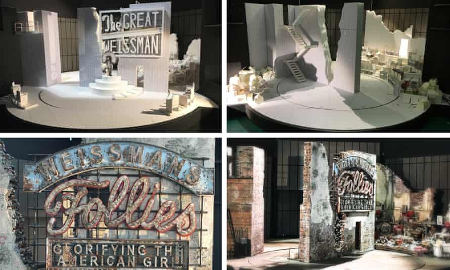 Models for the set design