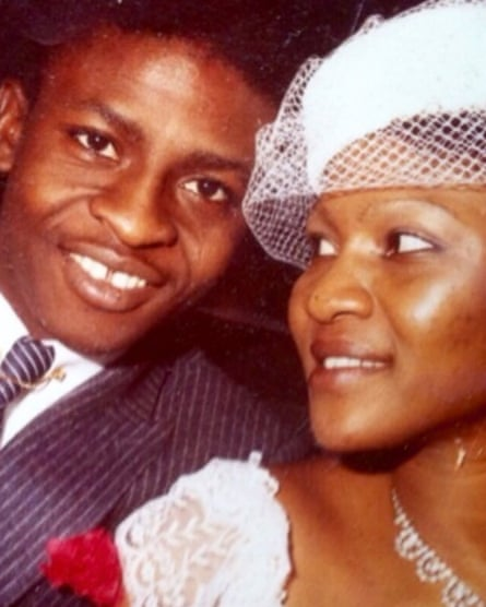 Ify and Joseph Sr on their wedding day in 1983.