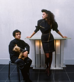 Alaia had his favourites - including French model Farida Khelfa, who he worked with for many years, and Yorkshire Terriers.