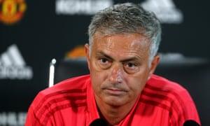José Mourinho, Manchester United press conference