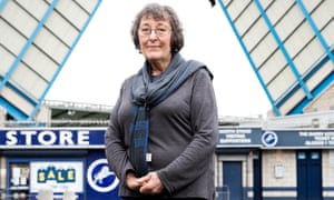 Willow Winston, a 72-year-old local artist who is backed by the Millwall AMS supporters' group, is standing for the Lewisham East seat in the general election.